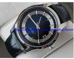 stone vision with best reviews - 2016 LUXURY Brand New box Men's Mechanical Chronometer Watch Men Complete Hour Vision Mens Leather Watches
