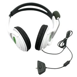 Wholesale Big Live Headset Headphone Earphone with MIC Microphone For Microsoft Xbox Headphone