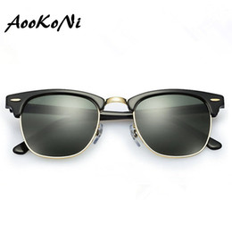 Wholesale Hot Designer Brand Sunglasses Master Men Sun Glasses Women Outdoor Semi Rimless Retro Sunglass Gafas de sol Sunglas mm