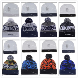 Wholesale New Arrival Cowboy Beanies Winter High Quality Beanie For Men Dallas beanie American Football Women Skull Caps Skullies Knit Cotton Hats