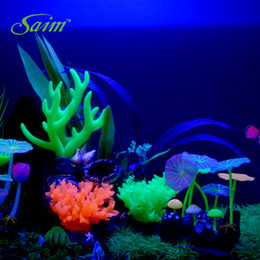 Silicone Artificial Coral Aquarium ornament decoration submarine Plant
