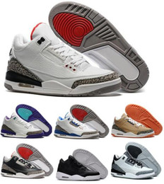 New Retro 3 Basketball Shoes Sports Replicas Authentic Man Sneakers Buy Aires Fashion Men s Retro Shoes 3s III Shoes Sale