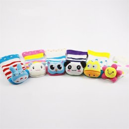 Wholesale Baby Kids Bamboo Fiber Soft D Cartoon Animal Socks Months Old Autumn Winter Girls Boys Anti Slip Socks Walking Socks Styles