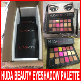 Wholesale In Stock hot Chrismas Colors Huda Beauty Eyeshadow Rose Gold Textured Pallete Make up Eye shadow Palette