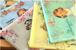 Freeshippin! New Cute doll girl A5 documents bag   File bag   Cosmetic Bags   office school suppiles