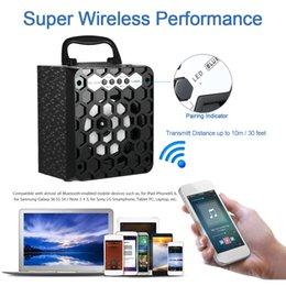 Wholesale MS BT Multimedia Wireless Bluetooth Speaker Loudspeaker FM Radio Mobile Mp3 Speaker Subwoofer USB mm Plug Support SD TF V2006