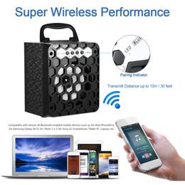 Wholesale MS BT Multimedia Wireless Bluetooth Speaker Loudspeaker FM Radio Mobile Mp3 Speaker Subwoofer USB mm Plug Support SD TF V2006