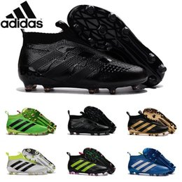 Wholesale Adidas Originals Ace purecontrol soccer boots Pure Control Football Shoes Soccer Cleats Boots Cheap Original Football Shoes