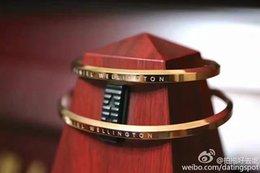 Wholesale 2016 New Arrival Brands Bracelets Straps for daniel wellington Watches Collocation Stainless Steel pulsera DW Ornaments