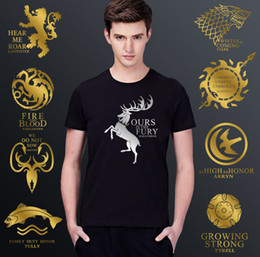 Wholesale Game Of Thrones Competitive Products High Archives Gilding T Pity Male Fund Pure Easy Will Bing Fire Hymn Beautiful Drama Shirts Tshirt Prin