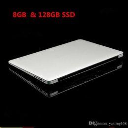 14inch ultrabook laptop computer 8GB RAM 128GB SSD J1800 2.41Ghz Windows 8 7 ultrathin notebook PC