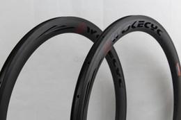 Carbon bike road rims 50mm Basalt brake surface clincher tubular bicycle racing 700C width 25mm replacement bike parts