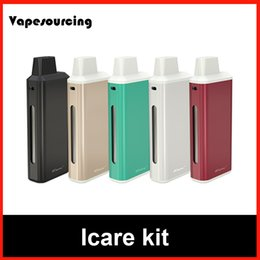 Wholesale Original Eleaf Icare Kit compact e cigarette starter kit with an internal tank and airflow system with New IC Head
