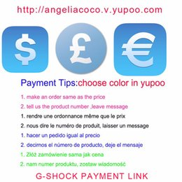 Wholesale G Watch SHOCK Payment link choose color with yupoo