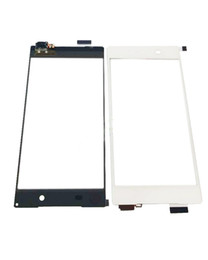 White Black Digitizer Touch Screen Panel Outer Glass For Sony Xperia Z5 + Free Tools Free shipping !!!