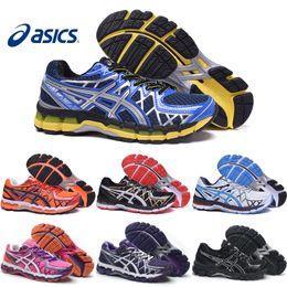 Wholesale Asics Gel Kayano Men Women Running Shoes Top Quality Cheap Training Hot Sale Walking Sport Shoes Size