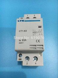 Wholesale auxiliar de partida KOHTAKTOP CT1 A P NC V V V V V V or60HZ Din rail Household AC Contactor Starter