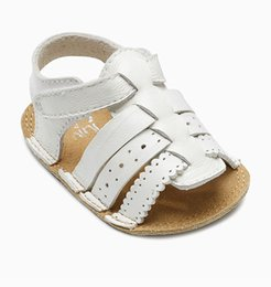 [New arrival] [Hot sale] England product Next 2016 summer baby girl comfortable soft outsole leather toddler shoes sandals