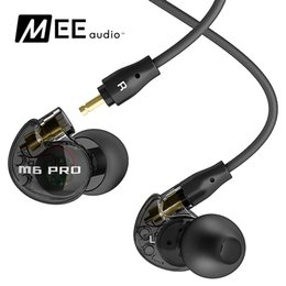 Wholesale 2016 original MEE audio M6 PRO earphones Universal Fit Noise Isolating Musicians In Ear Monitors with Detachable Cables