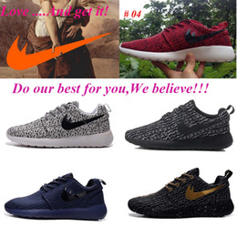Wholesale Roshe Run Free Running Shoes Men Women free run High Quality Discount Trainers Sport Shoes Size US