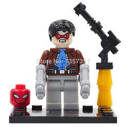 Wholesale Dargo D856 E Jason Todd Minifigure Building Blocks Super Heroes Avengers Ultron Single Figure Bricks Mini Figures Toys