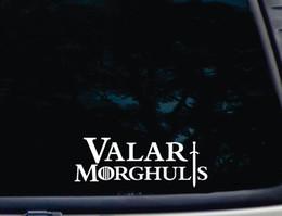 """Valar Morghulis Game of Thrones """"all men must die"""" GOT die cut decal sticker"""