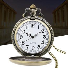 Wholesale black classic superman watch vine pocket watch necklace Men Women antique models Tuo table watch PW029