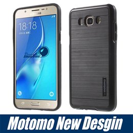Wholesale NEW Motomo Armor case for galaxy S7 S7 edge Hybrid shockproof PC TPU Back Cover for iphone5S SE iphone6 plu samsung J5 J7 With Retail box