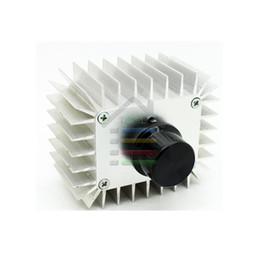 Haute Tension Régulateur électronique Interrupteur AC 220V-240V 5000W 23A Régulateur SCR Dimming Thermostat en alliage d'aluminium afin de refroidissement $ 18Personne tr à partir de haute tension gradateur fabricateur