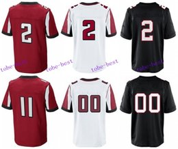 Wholesale 2016 Atlanta football jersey Falcons Soccer rugby jerseys Jones Freeman White Ryan Red White Black freeshipping