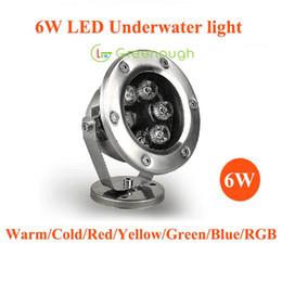 Wholesale 12V LED Underwater Pool Light RGB LED Fish Lighting Underwater Dock Lights LED Landscape Lamp Navigation Lights