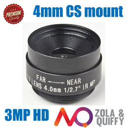4mm Megapixel 3MP HD CMOS  CCD SDI CVI CCTV camera lens 1 2.5 CCTV lens CS mount bullet CCTV camera IR lens