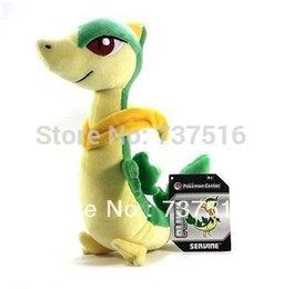 Wholesale Grass Snake Plush Toy Animation Stuffed Animal quot Jyanobii Servine doll Stuffed amp Plush Animals