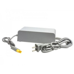 Wholesale Power Supply V AC Adapter for Wii U Game Console Computer Universal Replacement Power Adapters Wall Charger