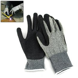 Wholesale Top Sale Working Gloves Safety Non Slip Anti Stab Gloves Outdoor Work Security Gear Cut Resistant Kitchen Gloves YS0117