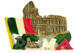 Colosseum 3D Realistic Resin Stereo Fridges Magnets Cute Flexible Fridge Magnets Gift Toys New Designed