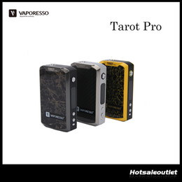Wholesale Authentic Vaporesso Tarot Pro Mod is the Updated Version of Tarot VTC Mod Tarot Pro w Output with an All New RB Circuit