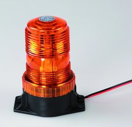 Wholesale Flashing LED Beacon Warning Light emergency vehicle strobe lights for forklift in amber and DC12V