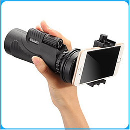 Wholesale Enlarge Universal x50 Hiking Concert Camera Lens Telescope Monocular With No Holder For Smartphone DHL
