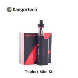 Mini Kit Black White Red Stock 5Kits lot 75W TC Box With 2 sub coil Topbox Mini Starter Kit
