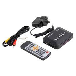 2017 el jugador del sd para la televisión Vídeo video SD MMC RMVB MP3 de la caja TV del jugador de los medios de TV del USB HDMI de la Venta al por mayor-Al por mayor 1080P HD el jugador del sd para la televisión oferta