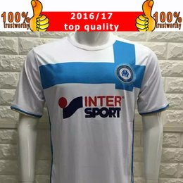 Wholesale New Marseille Soccer Jersey Home White Marseilles Soccer Jersey Cabella Diarra Doria Football Shirts Thai Quality Jeresys