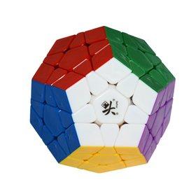 Dayan juguete en venta-Puzzle mayor-Nueva DaYan cubo mágico dodecaedro Megaminx Stickerless dodecaedro Cubo mágico los juguetes educativos especiales