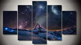 Wall Art Cuadros Canvas Painting Pictures For Living Room Marvelous Universe 5 Piece Children's Decor