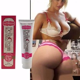 Wholesale Bella Natural Herbal Breast Enlargement Cream Surgery Free Bust Butt Enhancer gram cup Size Must up Breast Butt Enlargment Cream