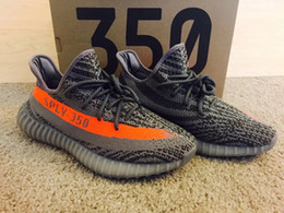 Wholesale Highest Version Boost V2 Kanye West Season SPLY Boost V2 Shoes Best Quality Steel Grey Beluga Solar Red Sneakers