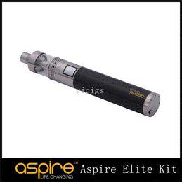 Promotion aspire atlantis méga Véritable Aspire Elite Kit 5ml Aspire Atlantis MEGA Kits verre Pyrex Réservoir Aspire CF MAXX batterie 3000mah 5-50W Elite