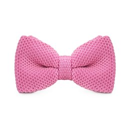 Wedding Pink Bow Tie Men's Tuxedo Party Adjustable Business Casual Bow Tie Gift Box Fashion Accessories F-305