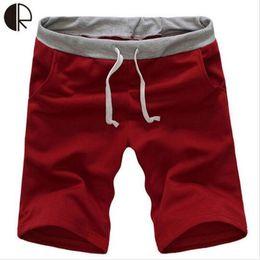 Wholesale-Hot Sale Fashion Comfortable Shorts Men Gym Sport Jogging Beach Trousers Short Casual Solid Trousers Men Clothes MP164