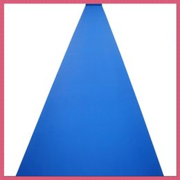 Wholesale 20 m roll m wide royal blue Nonwoven Carpet Aisle Runner for Romantic Wedding Favors Party Decorations New
